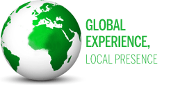 Global experience, local presence